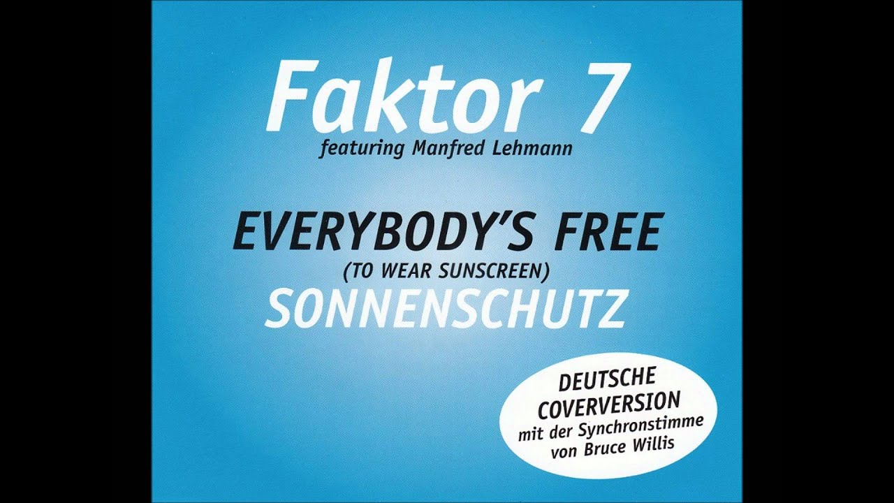 Song Lesson: Baz Luhrmann – 'Everybody's Free' (To Wear Sunscreen)