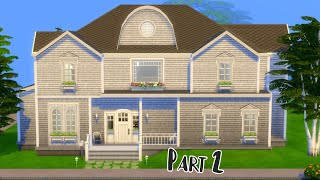 Expansion Pack Only | Part 2 | Sims 4 Speed Build