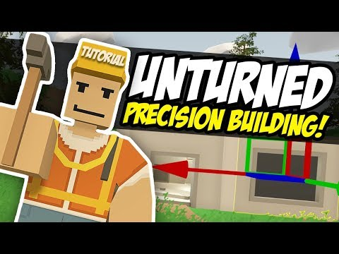 Download Youtube: BUILDING TUTORIAL - Unturned Precision Building | Advanced Builds! w/Speed Build  (Simple)