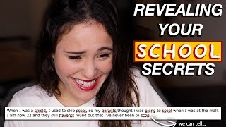 REVEALING YOUR SCHOOL SECRETS  | AYYDUBS