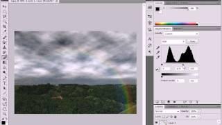 Включаем солнце, вызываем дождь и снег в Photoshop (3/17)