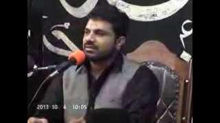 Allama Asif Raza Alvi ,2ed  majlis Ashra muharam 1436 hijri 2014 19 Bulak Sargodha