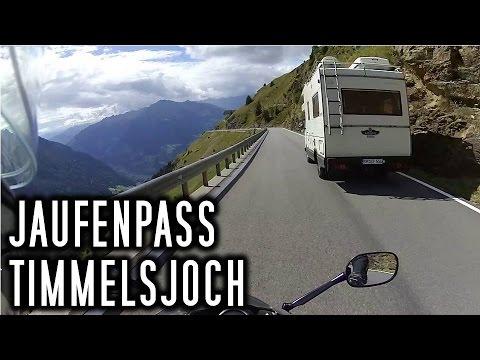 Jaufenpass & Timmelsjoch - Innsbruck-Tour 2016