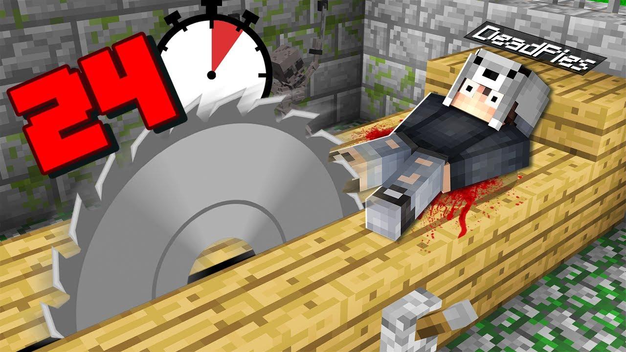 Download KURTULMAK İÇİN 24 SAATİM VAR 😱 - Minecraft