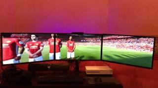 FIFA 17 в широкоформатном варианте