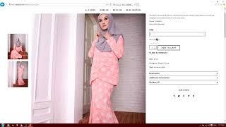 Tutorial for Online shoping karabum website