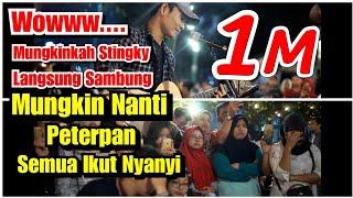 Download lagu Woww !!! Mungkinkah Stingky di sambung ke Mungkin Nanti Peterpan Penonton Langsung Ikutan Nyanyi