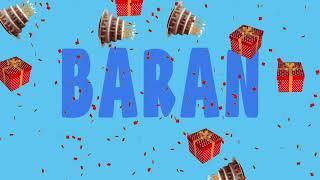 İyi ki doğdun BARAN - İsme Özel Ankara Havası Doğum Günü Şarkısı (FULL VERSİYON) (REKLAMSIZ)