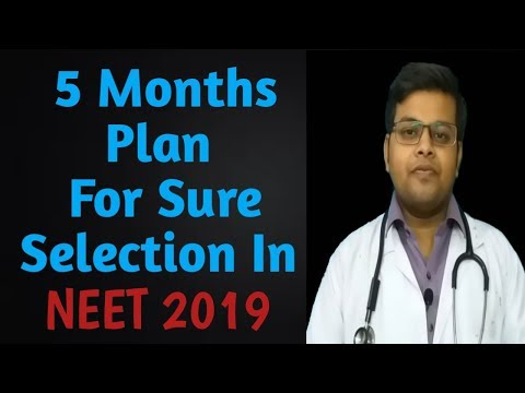 How to crack NEET 2019 in First attempt within 5 Months | How to score 600+ In NEET 2019