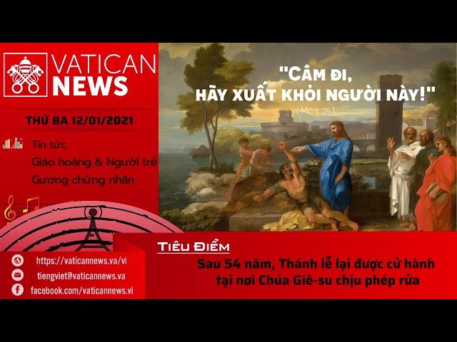 Radio: Vatican News Tiếng Việt 12.01.2021