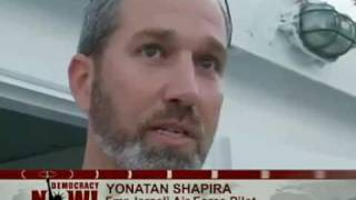 Yonatan Shapira, Former Israeli Air Force Pilot, Describes Why He Joined Gaza Aid Flotilla