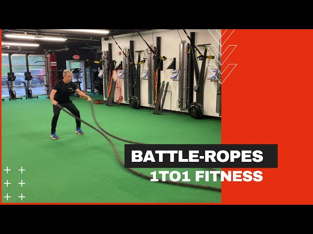 BATTLE ROPES - Four Pattern Full Body Exercise