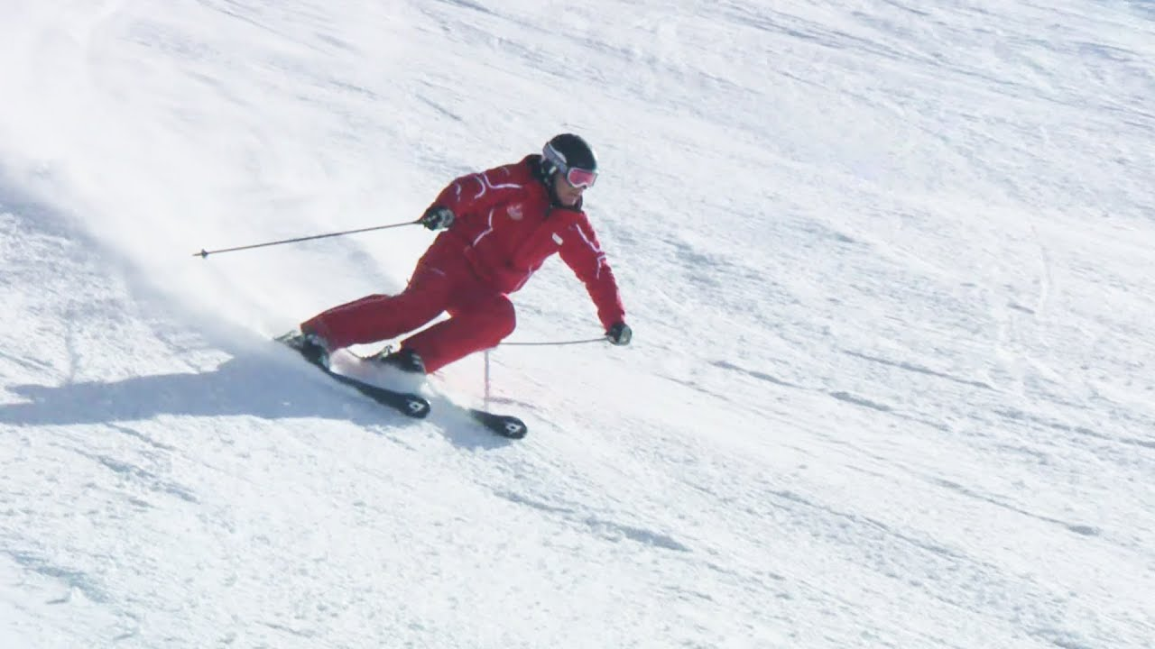 Carving technik auf skiern deutsch youtube