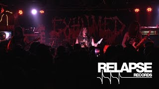 EXHUMED - Slaughter Maniac / Coins Upon the Eyes / Limb From Limb (Live at Brooklyn Bazaar)