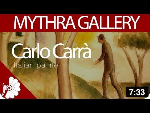 Carlo Carrà - Italian painter - Figurative painter - Italian modern art