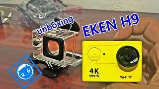 unboxing cámara de acción EKEN H9