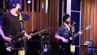 Foals performing My Number Live on KCRW