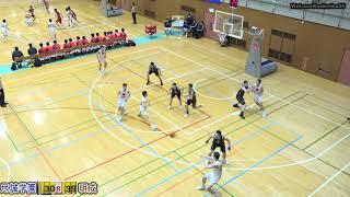 明成vs尽誠学園(Q2)高校バスケ 2019 KAZU CUP 2位リーグ