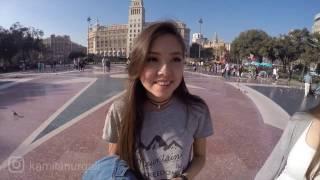 Видео ответы/один день из Барселоны!:)