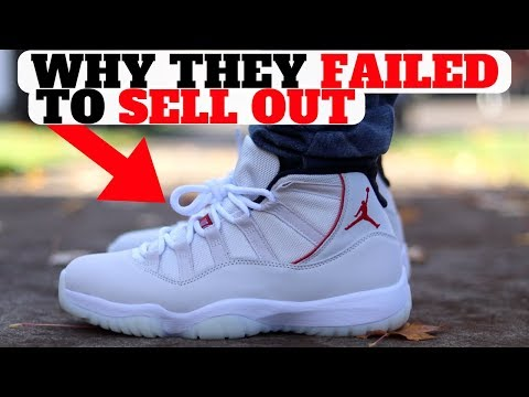 WHY The AIR JORDAN 11 Platinum Tint FAILED To Sell Out