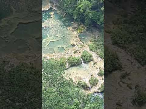 Semuc Champey, Guatemala as seen from a viewpoint