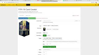 How to do fifa cards or roblox