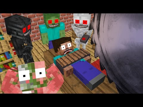 Monster School : KILL HEROBRINE CHALLENGE - Minecraft Animation