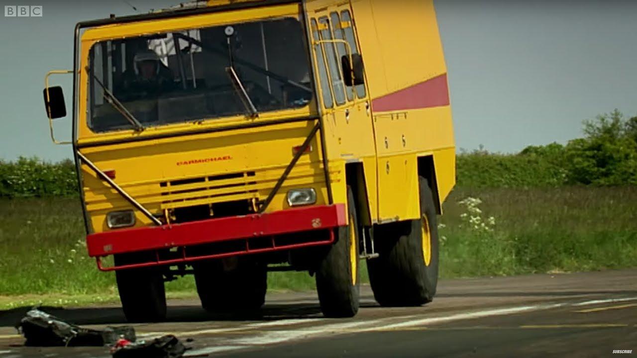 Airport Vehicle Racing | Top Gear