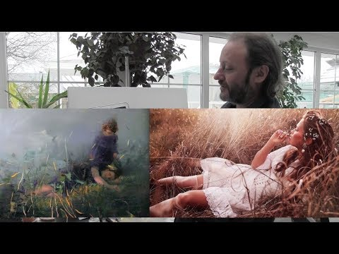 Igor Sakharov artist , video tutorial painting drawing lesso