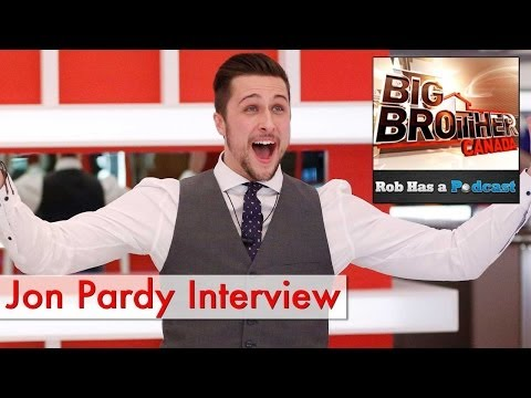 Jon Pardy Interview: Big Brother Canada 2 Winner
