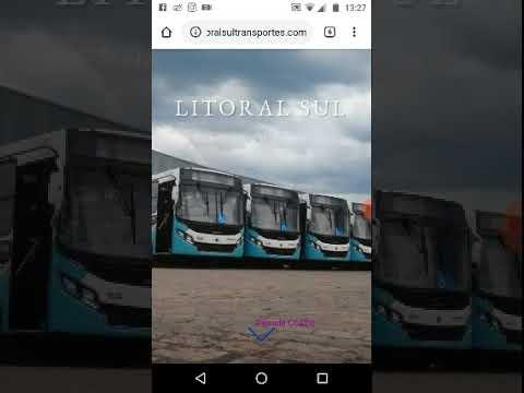 A história da viação Litoral Sul Transporte Urbano Ltda de Itanhaém SP