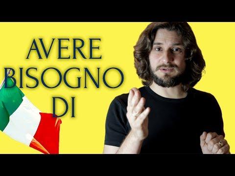 Выразить потребность на итальянском языке | Esprimere Un Bisogno In Italiano | итальянский язык