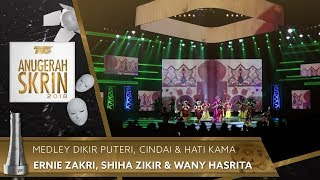 Video Medley Dikir Puteri, Cindai & Hati Kama - Ernie Zakri, Shiha Zikir & Wany Hasrita | #ASK2018 download MP3, 3GP, MP4, WEBM, AVI, FLV November 2018