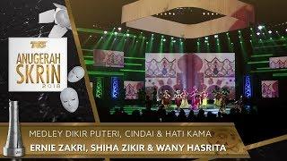 Download lagu Medley Dikir Puteri, Cindai & Hati Kama - Ernie Zakri, Shiha Zikir & Wany Hasrita | #ASK2018