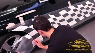 Überstehende Autofolie abschneiden - WrapArts