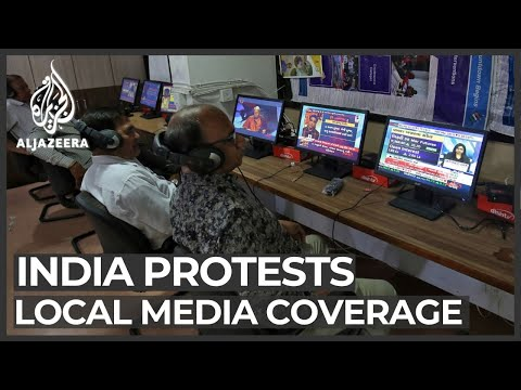 India citizenship law: Media accused of pro-government coverage