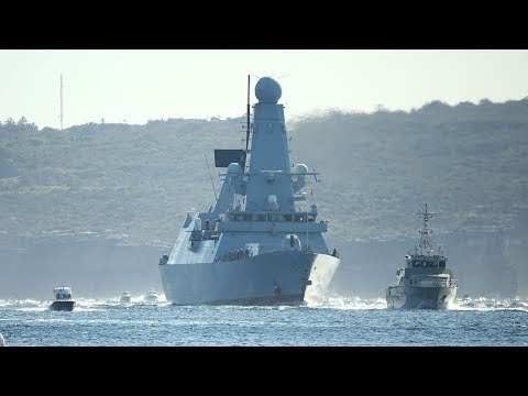 Australia-China Warship Confrontation!