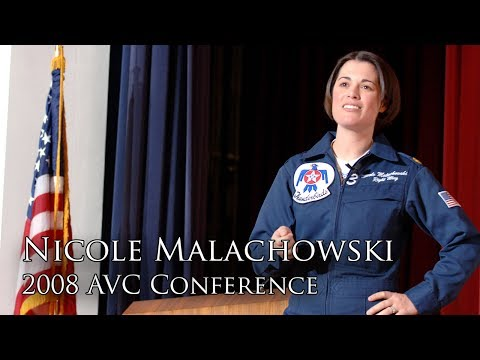 How Major Nicole Malachowski Became a Fighter Pilot (2008 AVC Conference)