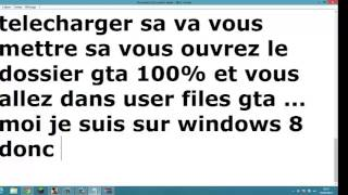 comment terminer gta san andreas a 100% sur windows 8