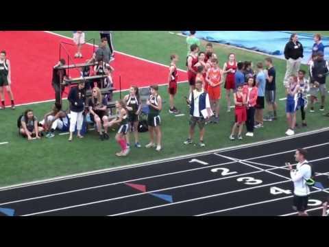 Silver Creek Middle School Girls Track 04172017