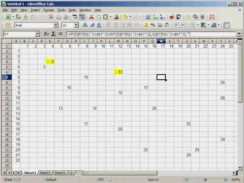 Finding Pythagorean Triples, Part 1
