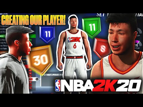 CREATING OUR PLAYER! THE ULTIMATE PLAYMAKER! NBA 2K20 MYCAREER EP.1