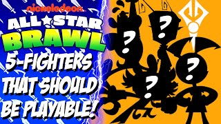 Nickelodeon All-Star Brawl - 5-Characters That Should Be Playable Fighters!