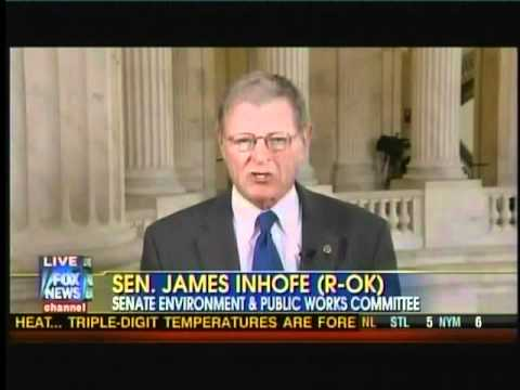 INHOFE ON FOX NEWS: OUTRAGE OF THE YEAR - US PAYS CHINA FOR CLIMATE AGENDA