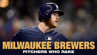 Brewers Pitchers are Raking in 2019