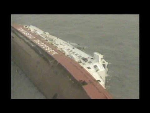 Zeebrugge Ferry Disaster (Herald of Free Enterprise) BBC News report (1987)