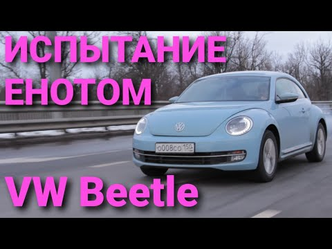 ИСПЫТАНИЕ ЕНОТОМ Volkswagen Beetle (Тест-драйв Жука)