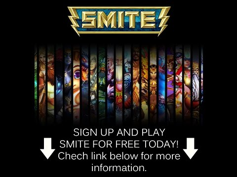 Sign up and download Smite game for free (free gems) 2015