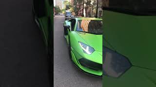 Green machine the Lamborghini SVJ AWD ALA 2.0