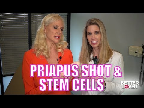 Priapus Shot (P-Shot with PRP) and Stem Cells For Stronger Erections